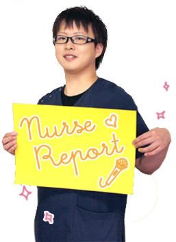 病棟ナース山口さんの写真