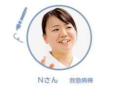 Iさん ICU(集中治療室)