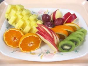 産科・お祝い膳・フルーツ盛り