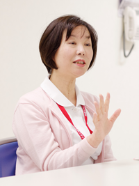 前田看護師長