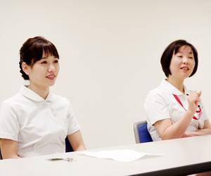 前田看護師長、習田看護師