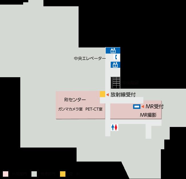 地下の配置図