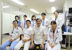 循環器内科  医師の集合写真