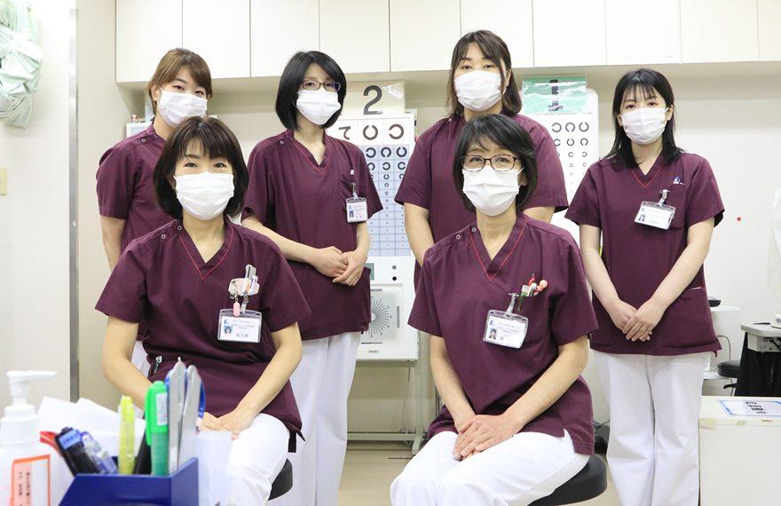 縁の下の力もちとしての眼科診療を支える「視能訓練士」